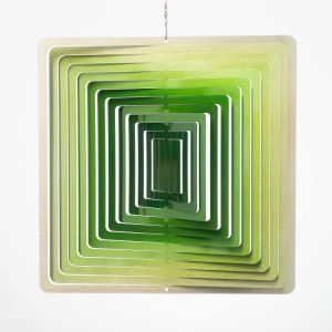windspinner square small green