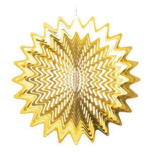 Golden star wind spinner 30cm
