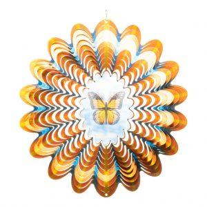Hologram butterfly wind spinner 30cm
