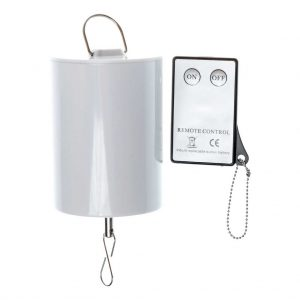 Battery operated motor with remote